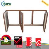 Membro Ropo Veka 70mm di Awa cinque finestra di inclinazione e di girata della cavità UPVC