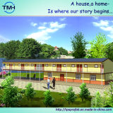 Cubierta prefabricada modular de dos pisos de Eco para los cuartos vivos