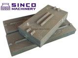 Barre de coup de plaque de maxillaire de pièces d'OEM de Metso Shanbao concave