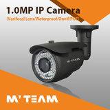 Distância video da câmera 60m IR do IP da lente da câmera 1024p 1.3MP Varifocal do CCTV da segurança da escola com opções do ponto de entrada