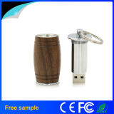 Natural Oak Barrel Wood USB Flash Drive 8GB