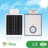 réverbère 8W solaire complet pour l'application extérieure d'éclairage