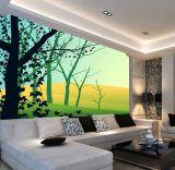 Mural no tejido imprimible