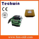 Verbindene Maschinen-Filmklebepresse-Marke Techwin Schmelzverfahrens-Faser-Optikfilmklebepresse