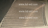 High Quality를 가진 곡선 Stainless Steel Conveyor Belt
