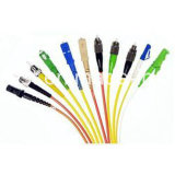 I cavi ottici duplex multimodi della 50/125 di fibra Om3 di LC
