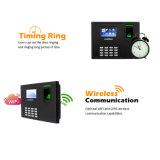 Multi Sprachfingerabdruck-Zugriffssteuerung-Zeit-Anwesenheits-Systems-Maschinen-eingebaute backupbatterie
