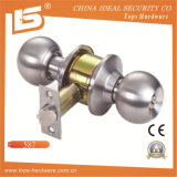 Fechamento redondo cilíndrico do botão de porta (607)