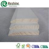 Baseboard de moulage en bois amorcé blanc de couronne d'enveloppe