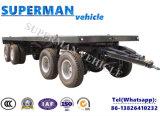 8m груз тележки 4 Axle планшетный вытягивая вполне Semi перевозят трейлер на грузовиках