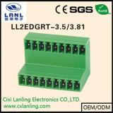 Connettore Pluggable dei blocchetti terminali Ll2edgvt-3.5/3.81