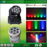 Lumière de lavage Sale/LED de la Chine d'étape directe de l'usine/éclairage principaux mobiles RGBW