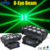 8PCS LED 4in 1 Moving Head Spider Beam Light