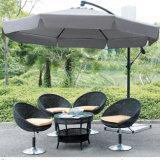 傘の日曜日浜の昇進のバリ島のテラス雨庭の屋外の傘