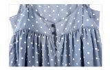Vêtements 100% nouveau-nés de belle robe de bébé de coton pour de petites filles
