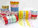 Decoration를 위한 도매 Single Face Polyester Satin Ribbon