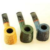 Pipe de fumage de grande taille de qualité en bois de fond de poire d'Obacco