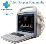 Ultrasuono trasportato facile Ew-C5 di Doppler di colore con la sonda convessa C3r60, la sonda lineare L7l40 e la sonda Micro-Convessa per sistema diagnostico umano
