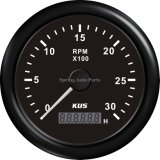 "85m m 3-3/8 "" Tachometer 3000rpm con Hour Meter con Backlight"