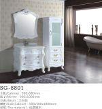 Neue europäische Art Belüftung-materielle Badezimmer-Eitelkeit