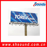¡Producto caliente! ¡! ¡! bandera de la flexión del PVC de 40GSM /500d *500d /9 *9 /Frontlit Blockout