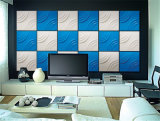 벽 3D PVC 지상 위원회에 외부와 실내 접착제