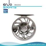 Carretel seleto da mosca do equipamento de pesca do CNC do alumínio do pescador (RIBEIROS 7-8)