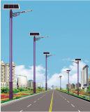 lámpara solar del adorno de la calle de los 10m 90W LED con el solo brazo