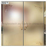 세륨 SGS를 가진 3mm-19mm Acid Etched Patterned Glass
