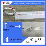 탬퍼 분명한 이동 번호찍기 밀봉 테이프