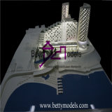 Fabricante del modelo de escala del edificio del hotel, fabricación del modelo de la casa (BM-0010)
