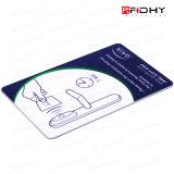 Carte vierge de contrôle d'accès de serrure de porte d'hôtel de RFID Em4100