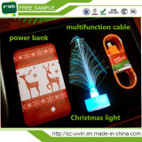Cadeau promotionnel Portable Mobile Power Bank for Christmas