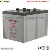 Bateria acidificada ao chumbo 2V1500ah do AGM com 3 anos de garantia