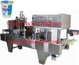 Füllmaschine-Typ und Papier, materielles automatisches K Cup-füllende Dichtungs-Verpackungsmaschine des Kunststoffgehäuse-