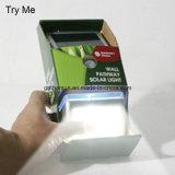 Edelstahl-Solarinduktions-Wand-Lampe mit dem Cer genehmigt
