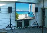 """écran de projection mobile du trépied 70 """" X70 """" pour le projecteur"""