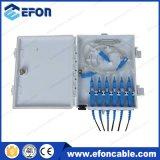 1X2 1X4 verteilen Minifaser-Optik des PLC-Teiler-6core FTTH Kasten (FDB-06A)