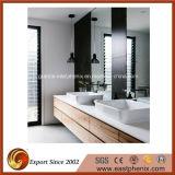 Il polacco bianco/nero/granito/marmo/Onyx/quarzo grigi/beige/ha cristallizzato il dispersore di pietra della lavata per la stanza da bagno/cucina/hotel