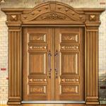 중국 수출 최고 가격 금속 문 외부 문 (FD-8818)에서 강철 문