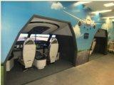 787機のレプリカの航空機のシミュレーター