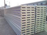 Панель PU панелей изолированные панели сандвича PU полиуретана или комната PU холодная или холодной комнаты