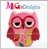Bancos Piggy decorativos Shaped da coruja cerâmica bonito super nova da chegada
