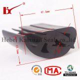 Чернота прессовала резиновый защитные прокладки