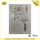 Collants brillants de tatouage de corps d'or et d'argent pour les filles (JHXY-TT0019)