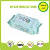 Trapo mojado de los cabritos de piel de cuidado del bebé de calidad superior del producto