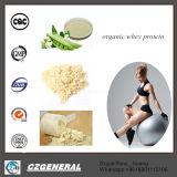 Pó por atacado orgânico da proteína do Whey do suplemento à nutrição da bandeira de ouro