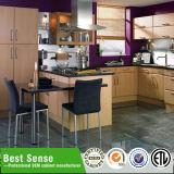 Het nieuwe Comité van de Muur van de Producten van de Keuken 3D voor MDF Keukenkast van pvc van de Deur 3D Hete Stempelende