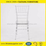 투명한 결혼식 사용 플라스틱 의자 Chiavari 의자
