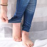 Beenkappen van de Vouwen van de Jeans van Spandex van de Vrouwen van uitstekende kwaliteit de Magere (SR8210)